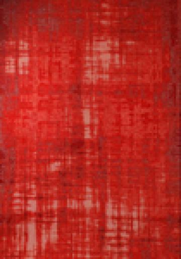 Vloerkleed Grunge Red