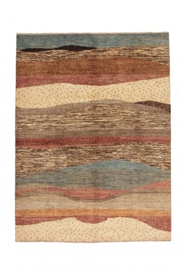 Modern tapijt Afghan 238x180 5203