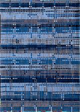 Louis de Poortere Mad Men Rockefeller blue 8426