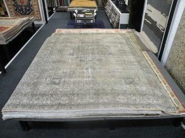 Afghaans Vintage Tapijt Industrial 372 x 279