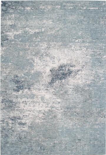 Vloerkleed Grunge Denim Blue Flow collection
