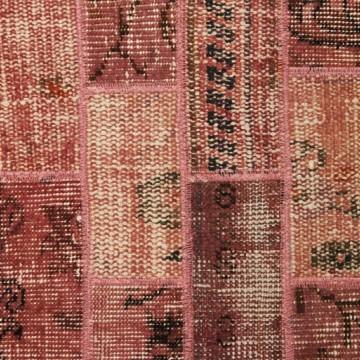 Patch vintage tapijt pink