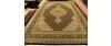 Oosters tapijt Tabriz zwart/groen