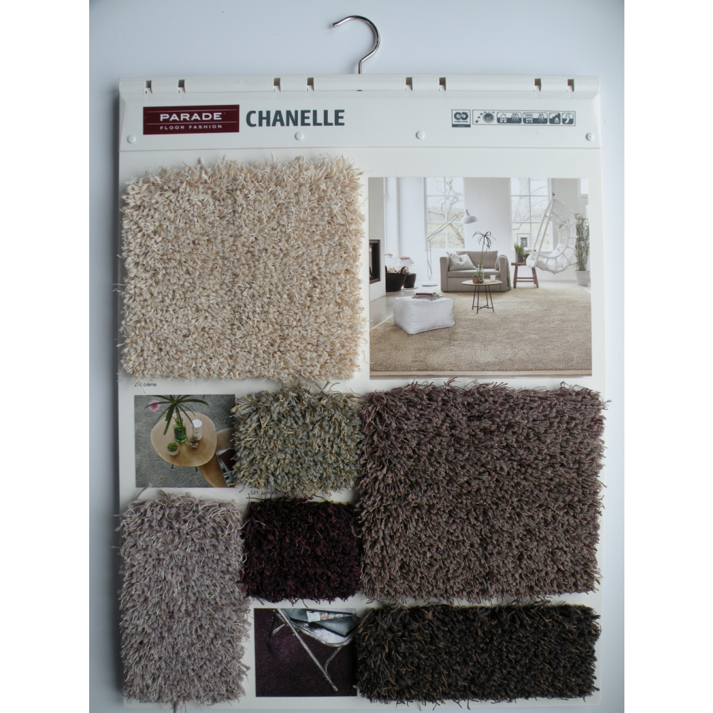 Parade Chanelle 4 meter breed -