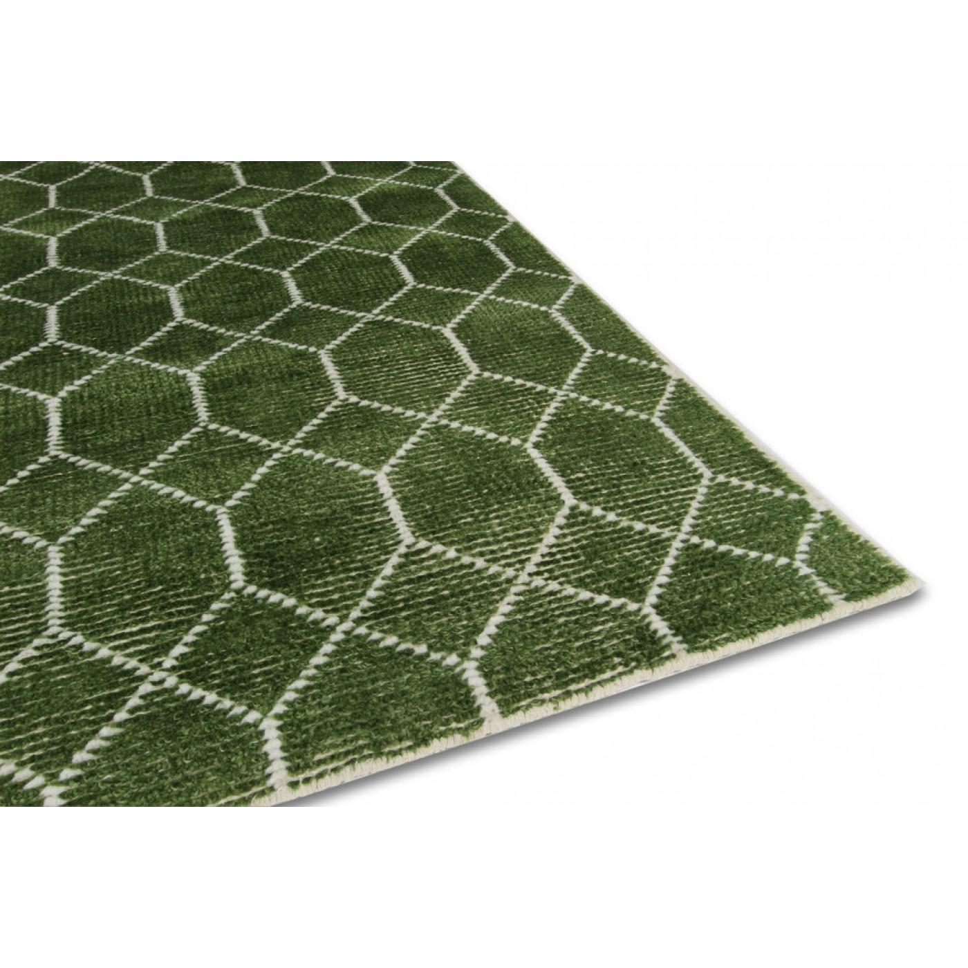 vloerkleed laatz army green