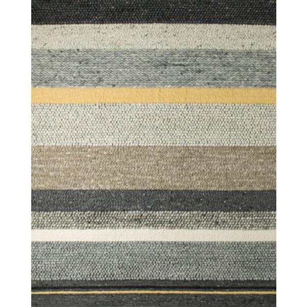 Vloerkleed Perletta Structures Mix Beige met Geel   Karpetwereld