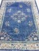 Vintage tapijt handgeknoopt 200 x 280 blue