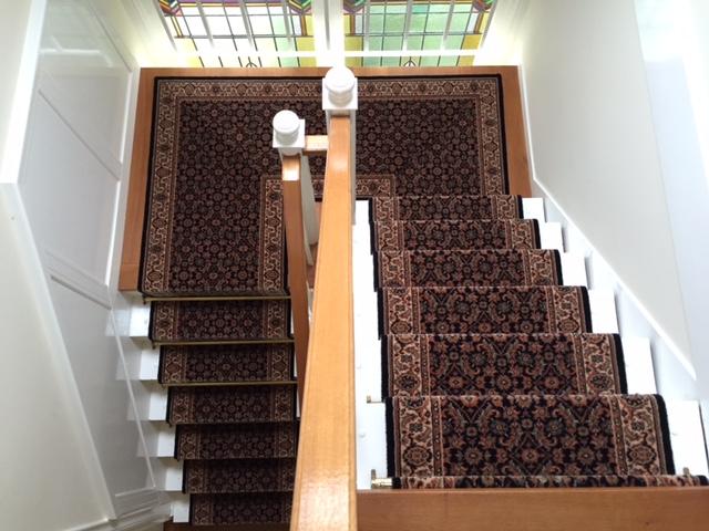 trap bekleden met klassieke traploper